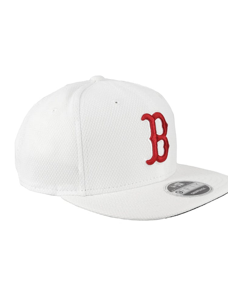 sports shoes 65438 cf1da New Era Boston Red Sox Original Fit 9FIFTY Snapback White