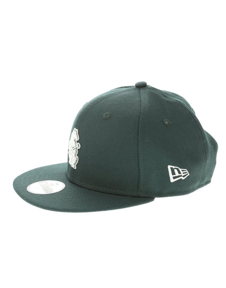 best supplier large discount reasonably priced New Era Chicago Cubs Youth 950 Snapback Dark Green | Culture Kings