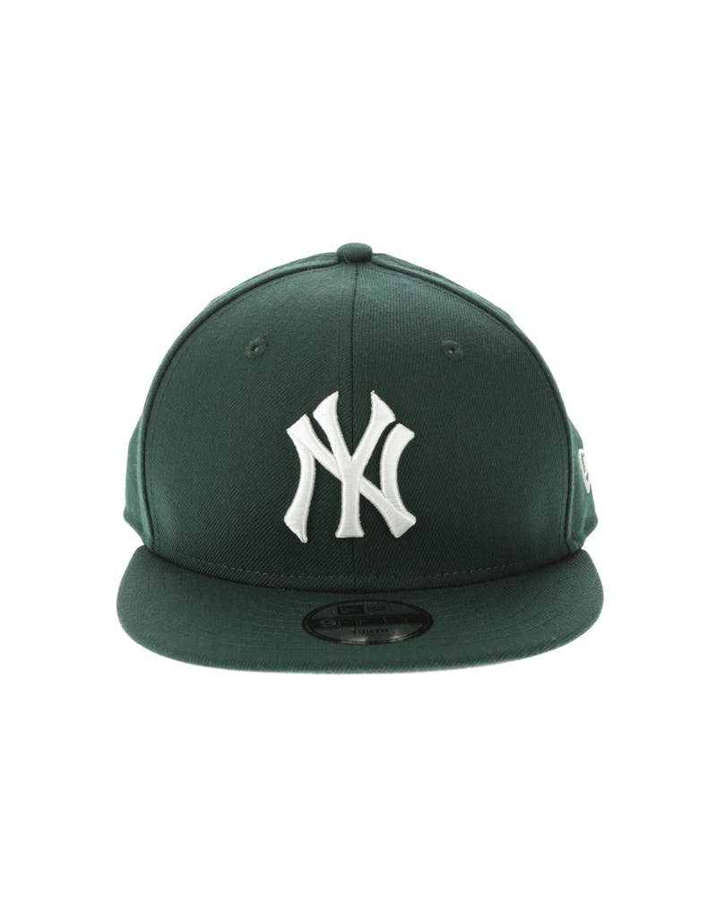 New Era New York Yankees Youth 950 Snapback Dark Green