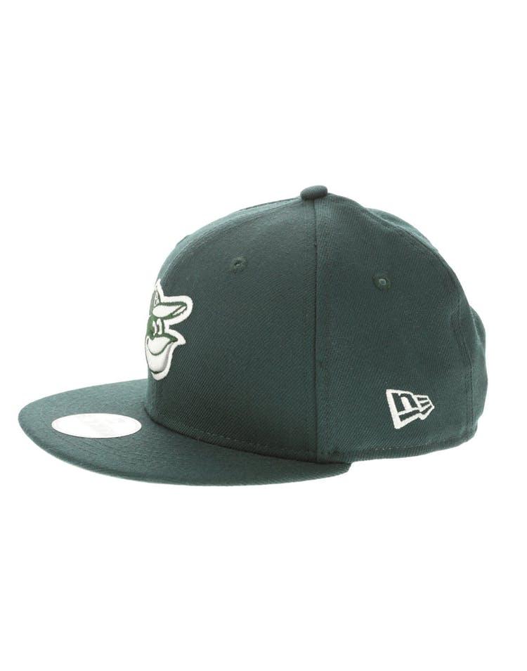 pretty nice 1539b 75051 New Era Baltimore Orioles Youth 950 Snapback Dark Green