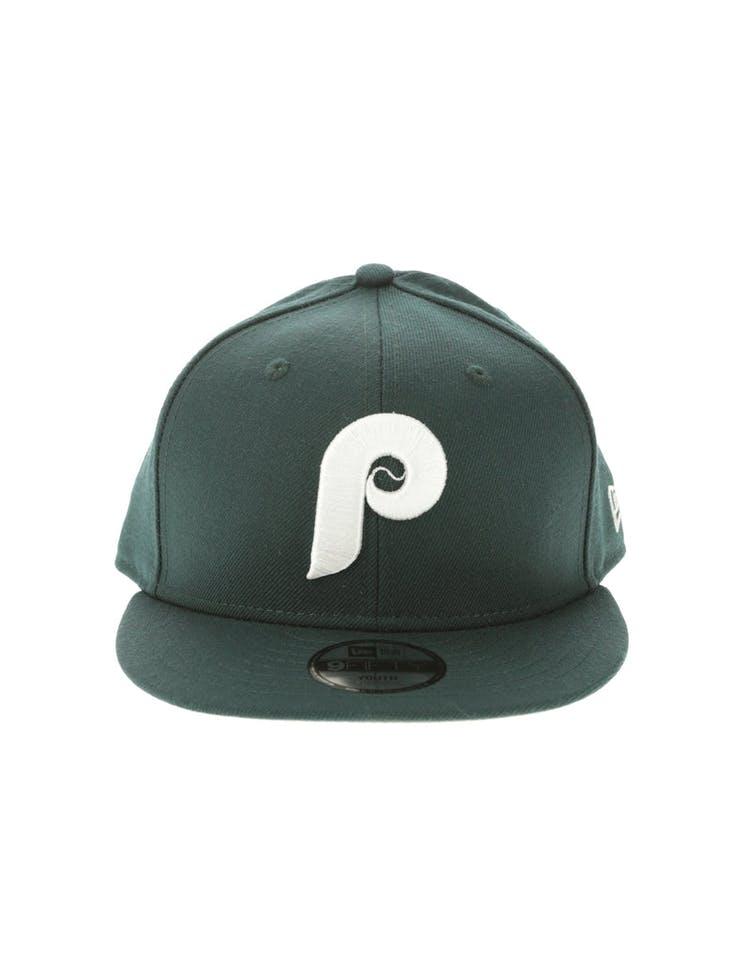 on sale 55b9d a98f8 New Era Philadelphia Flyers Youth 950 Snapback Dark Green – Culture Kings