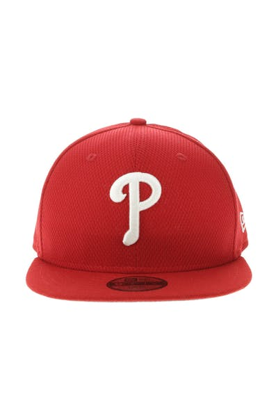 New Era Philadelphia Phillies Youth 9FIFTY Snapback Scarlet