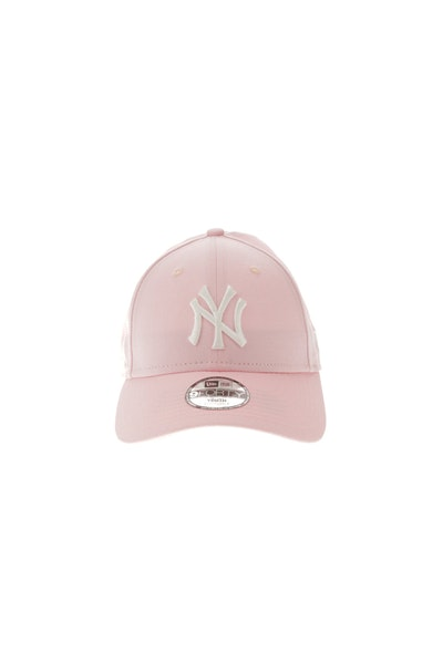New Era New York Yankees Youth 940 Velcroback Pink