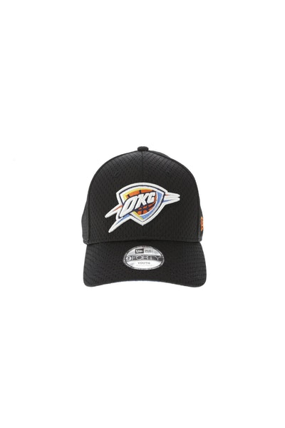 New Era Youth Oklahoma City Thunder 940 Velcroback Black