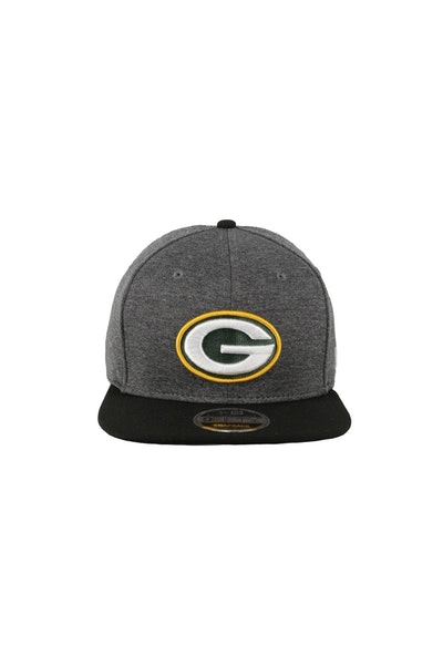 New Era Green Bay Packers Original Fit 950 Snapback Charcoal