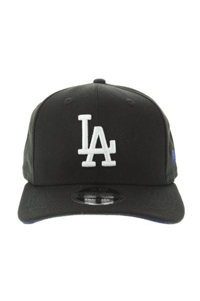 d4e107c8 New Era Los Angeles Dodgers 9FIFTY Original Fit Precurve Snapback Black