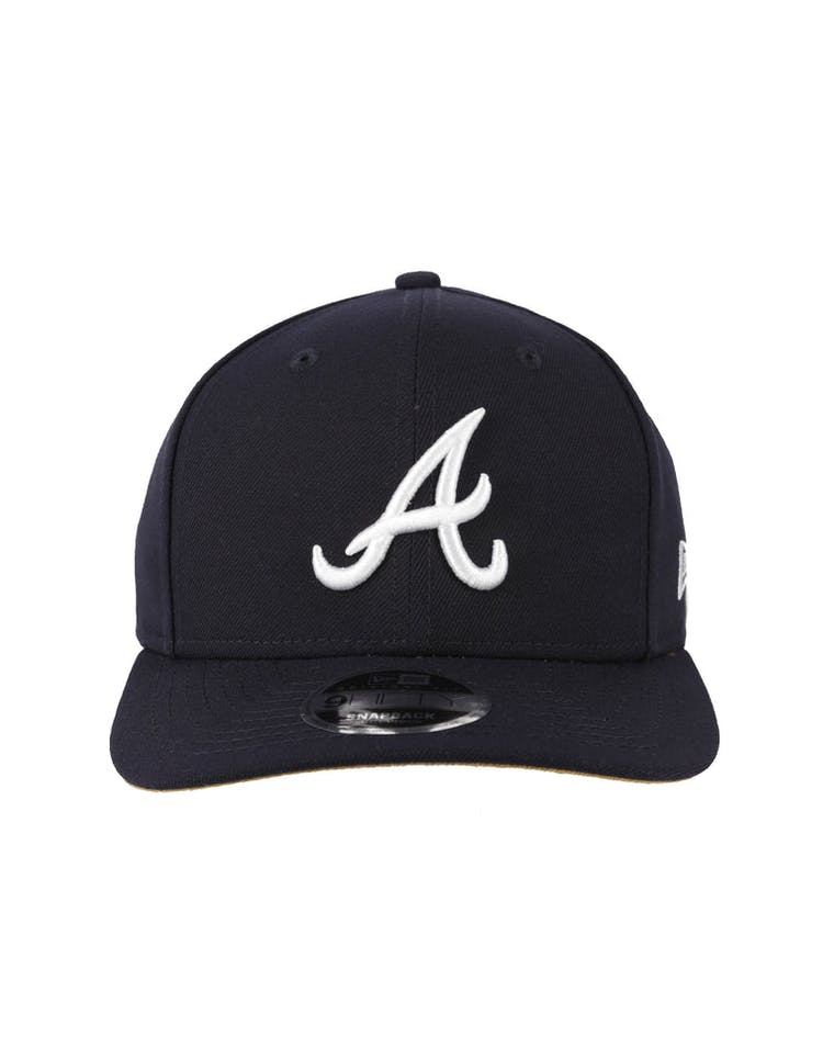 the latest 8492e 5a2d5 New Era Atlanta Braves Original Fit 9FIFTY Snapback Navy – Culture Kings