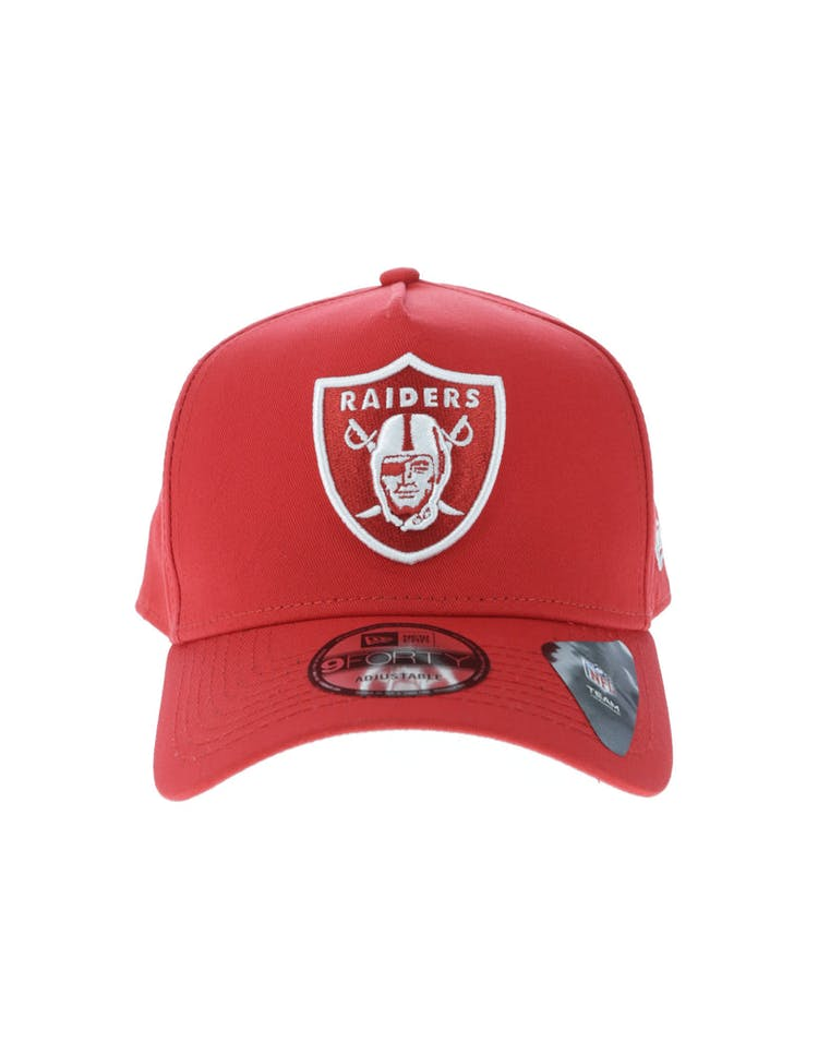New Era Oakland Raiders 9FORTY A-Frame Snapback Red