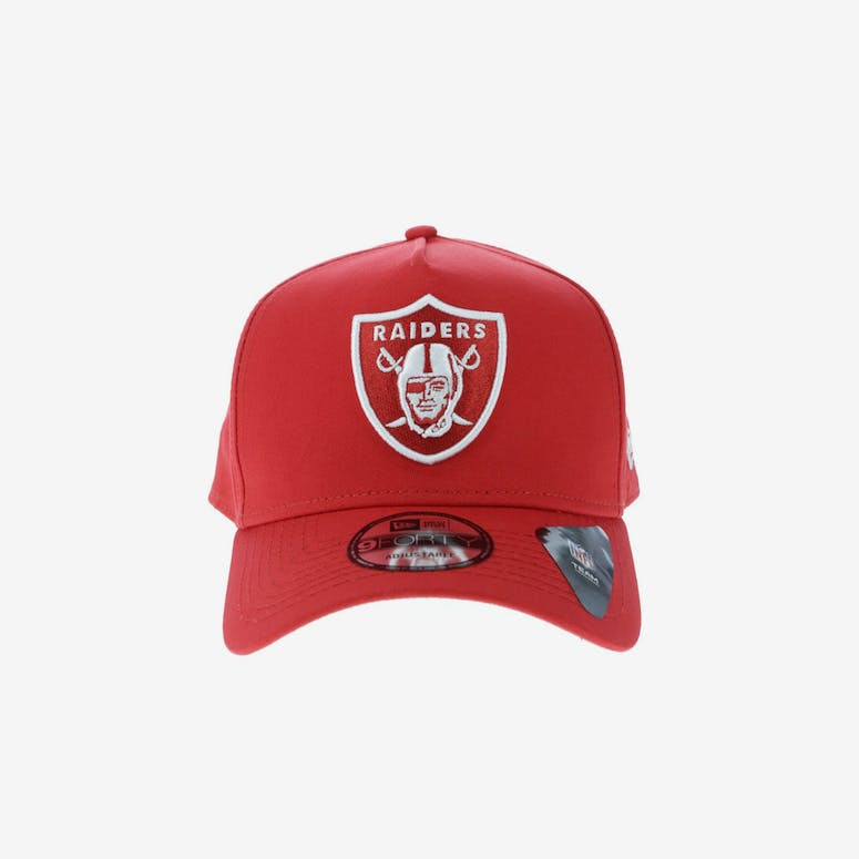 b089c84a567 New Era Oakland Raiders 9FORTY A-Frame Snapback Red – Culture Kings