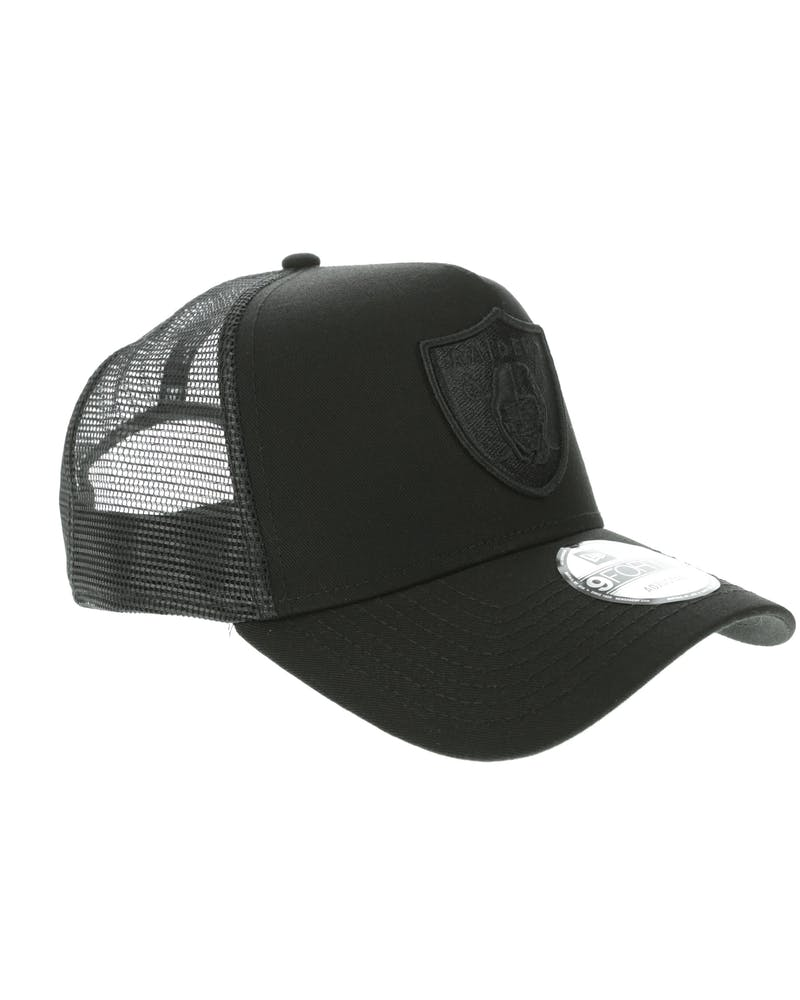 New Era Oakland Raiders 9FORTY A-Frame Trucker Black