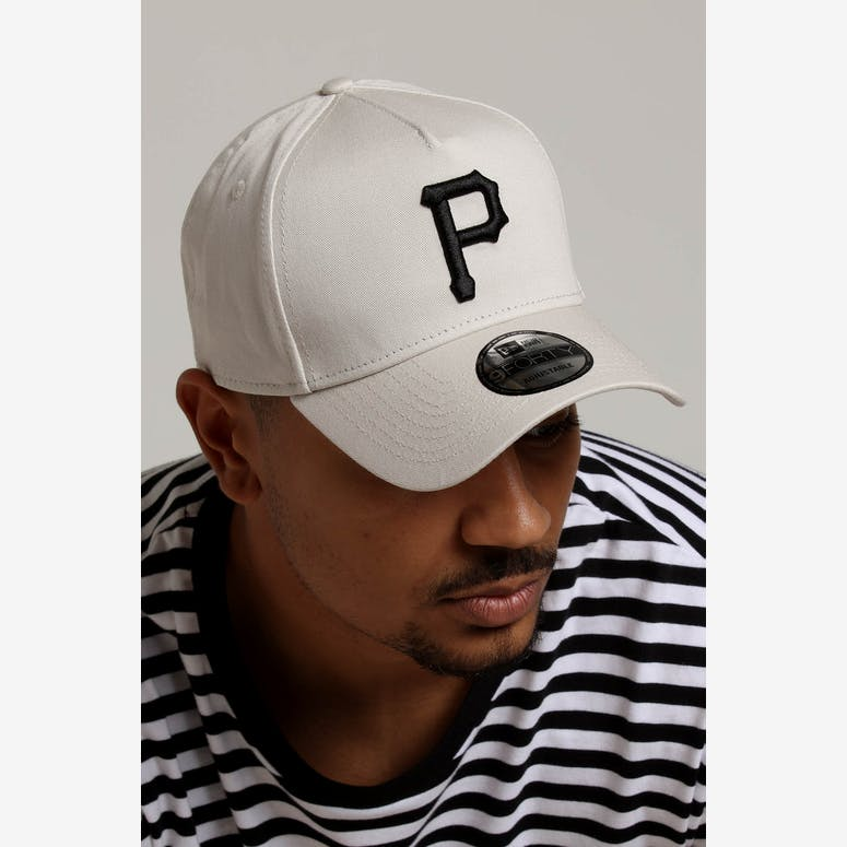 c8c6a3996c6 New Era Pittsburgh Pirates 9FORTY A-Frame Snapback Stone – Culture Kings