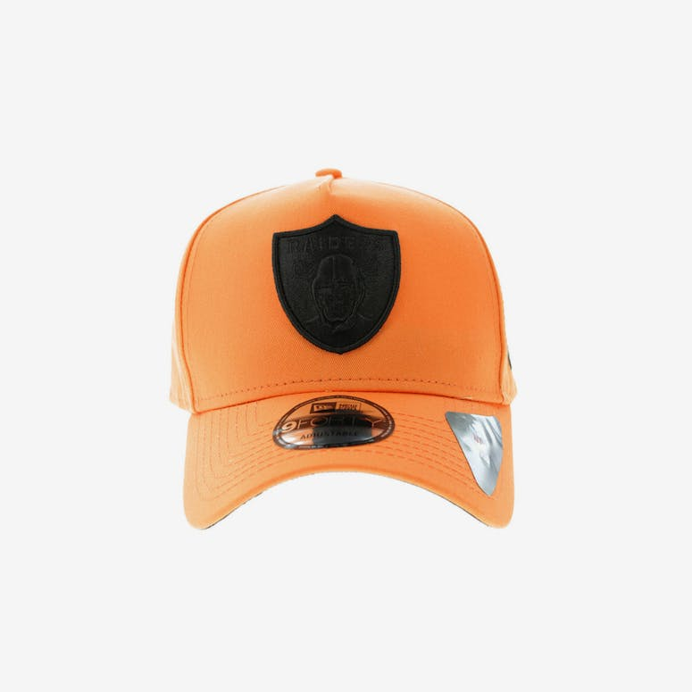 5685a015538 New Era Oakland Raiders 9FORTY A-Frame Snapback Orange Black – Culture Kings