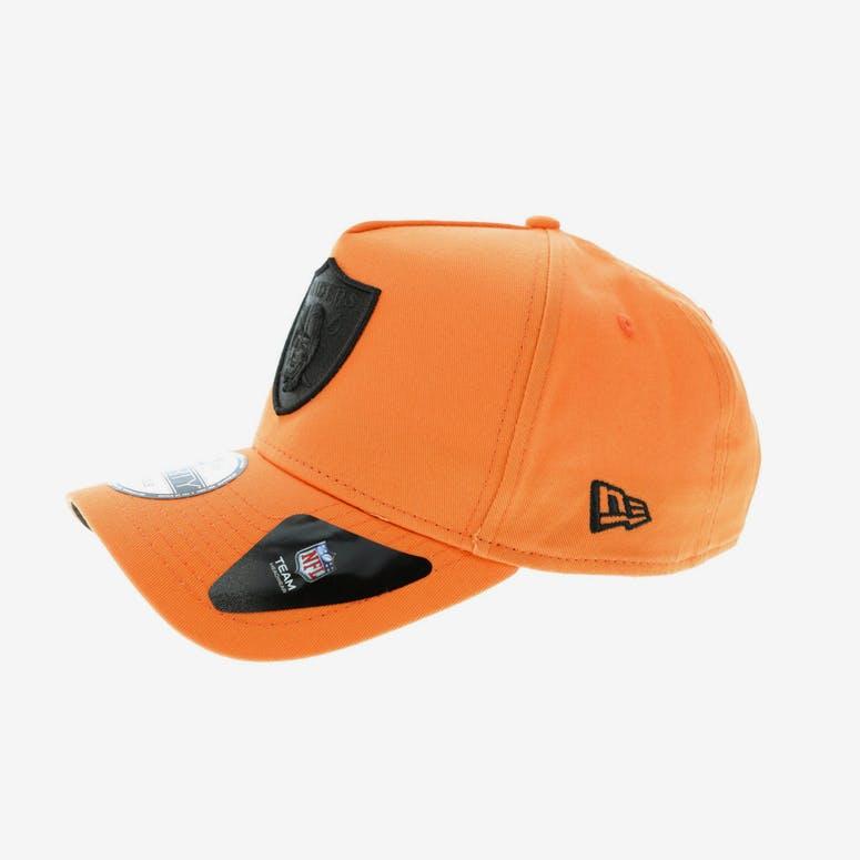 2368b1bde16 New Era Oakland Raiders 9FORTY A-Frame Snapback Orange Black ...