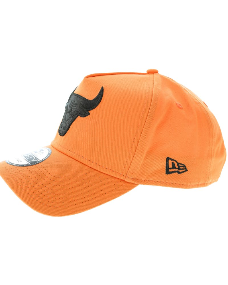 New Era Chicago Bulls 9FORTY A-Frame Snapback Orange/Black