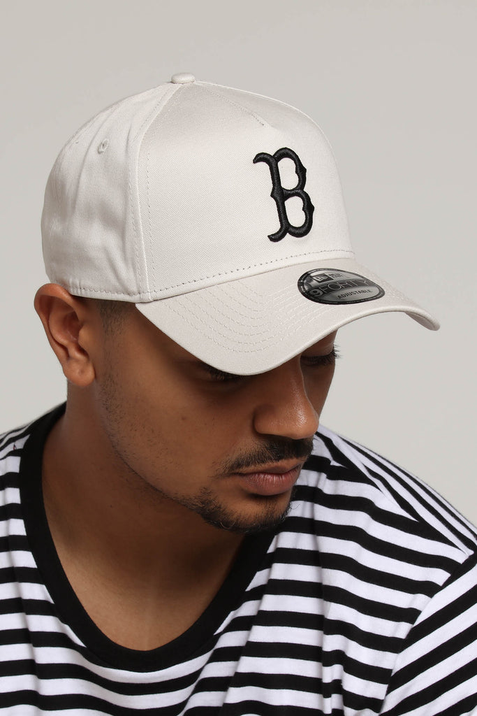 check out 7c2e4 ca5f9 ... uk new era boston red sox 9forty a frame snapback stone 67ff5 a35b8