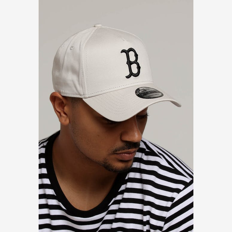 f0cd82dced2 New Era Boston Red Sox 9FORTY A-Frame Snapback Stone – Culture Kings