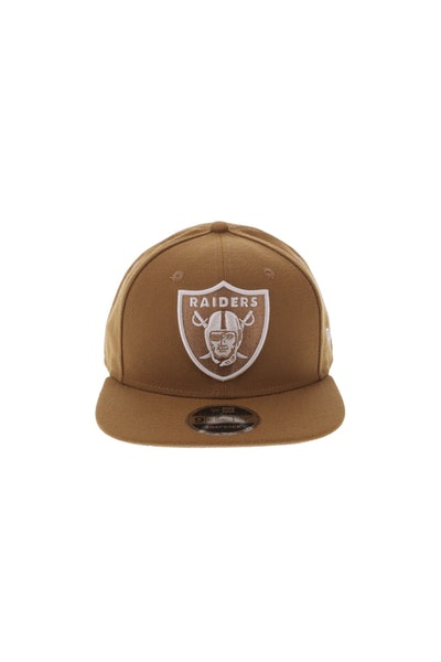 New Era Oakland Raiders 950 Original Fit Snapback Toasted Peanut