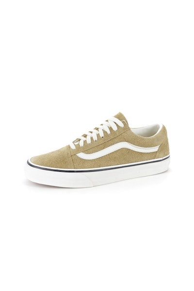 VANS OLD SKOOL FUZZY SUEDE BRONZE/WHITE