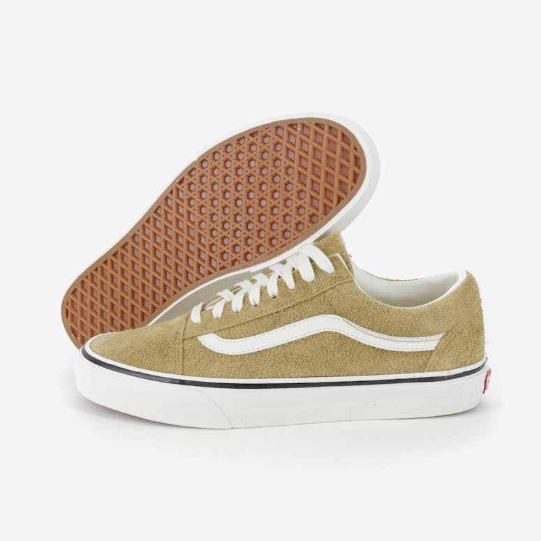 3b7d61a0805 VANS OLD SKOOL FUZZY SUEDE BRONZE WHITE – Culture Kings