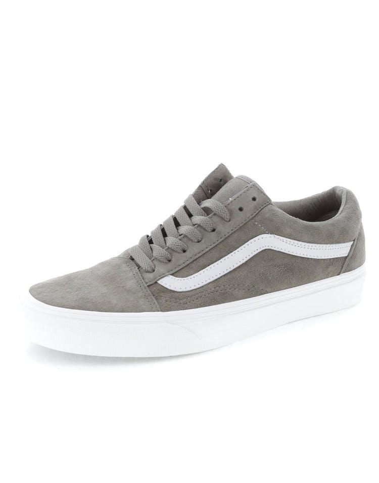 94f6622bb3 Vans Old Skool Pig Suede Grey White