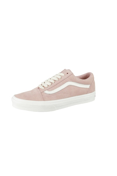 Vans Old Skool Herringbone Lace Pink/White