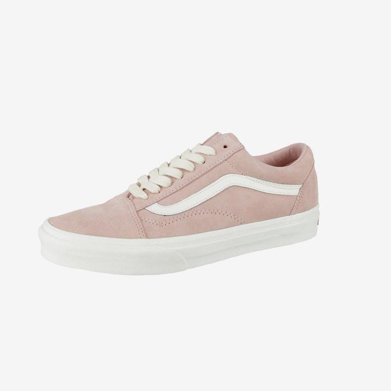 3f6269624dce91 Vans Old Skool Herringbone Lace Pink White