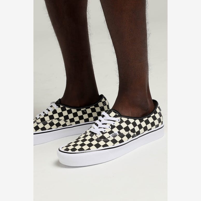 86371ea3327 Vans Authentic LITE (Checkerboard) Black White – Culture Kings