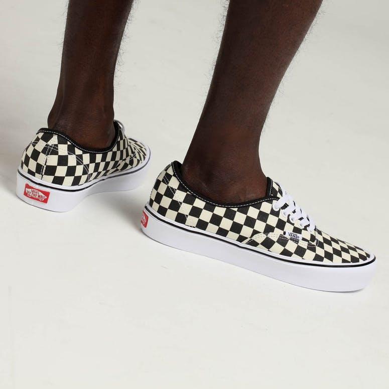 ae79ff31769702 Vans Authentic LITE (Checkerboard) Black White – Culture Kings