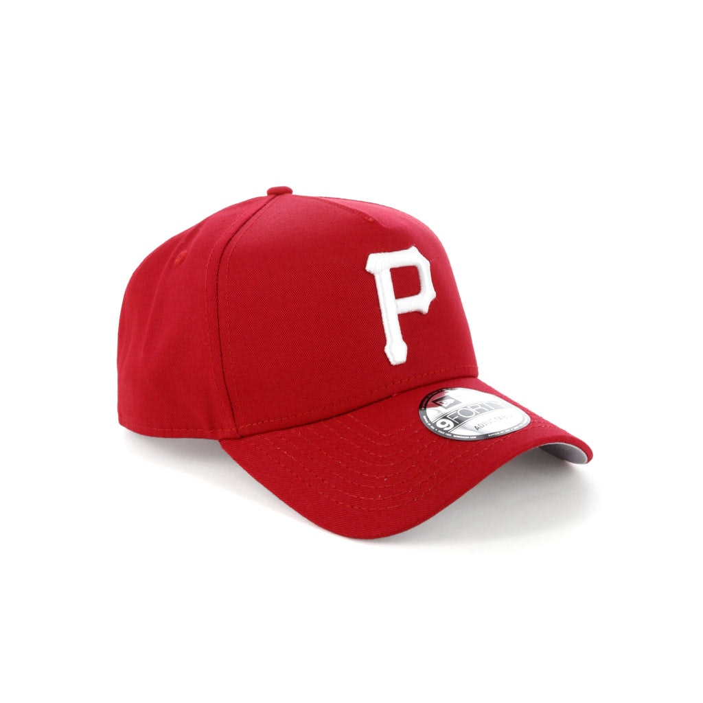 Buy Here Pay Here Tampa >> New Era Pittsburgh Pirates 9FORTY A-Frame Grey Undervisor Snapback Red – Culture Kings
