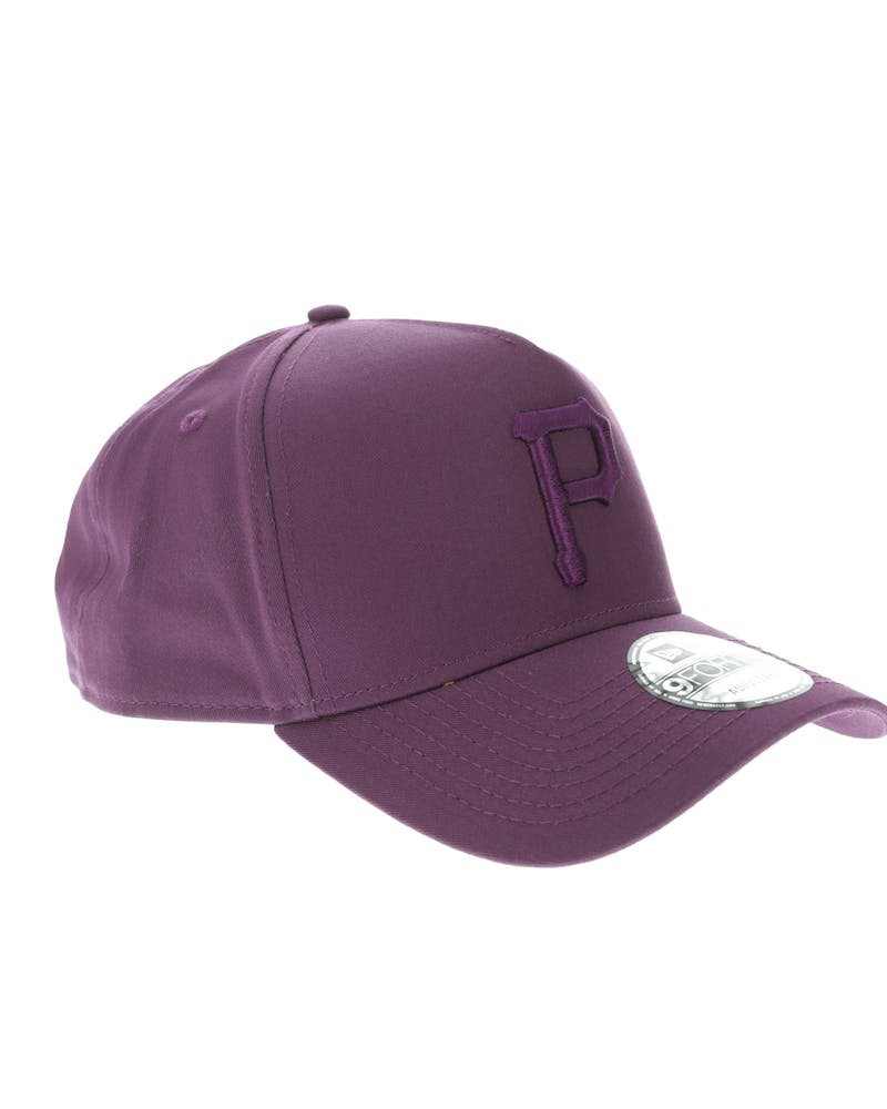 New Era Pittsburgh Pirates 9FORTY A-Frame Snapback Burgundy/Berry
