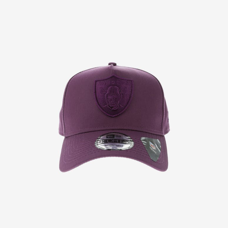 New Era Oakland Raiders 9FORTY A-Frame Snapback Burgundy Berry – Culture  Kings 4393965d7498