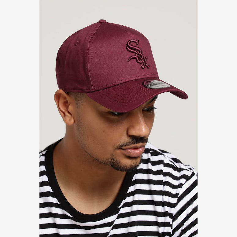New Era Chicago Whitesox 9FORTY A-Frame Snapback Maroon – Culture Kings f7ac0e446503