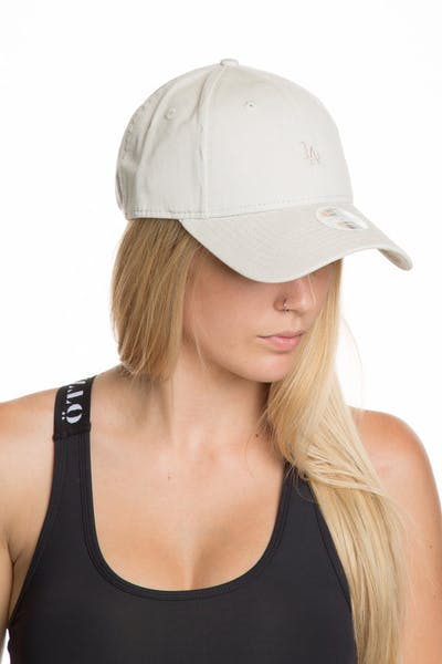 low priced 8fb16 4a415 New Era Women s Los Angeles Dodgers 9FORTY Strapback Off White ...