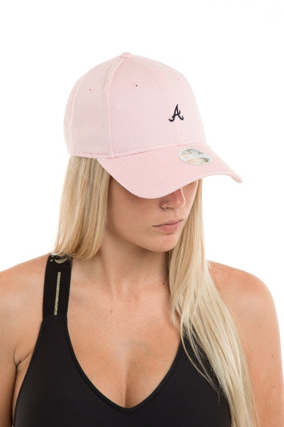 New Era Women's Atlanta Braves 940 Strapback Washed Quartz