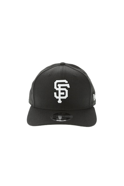 New Era San Francisco Giants 950 Original Fit Precurve TPU Logo Snapback Black/White