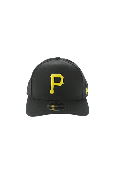 New Era Pittsburgh Pirates 950 Original Fit Precurve TPU Logo Snapback Black/Yellow