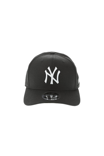 New Era New York Yankees 950 Original Fit Precurve TPU Logo Snapback Black/White