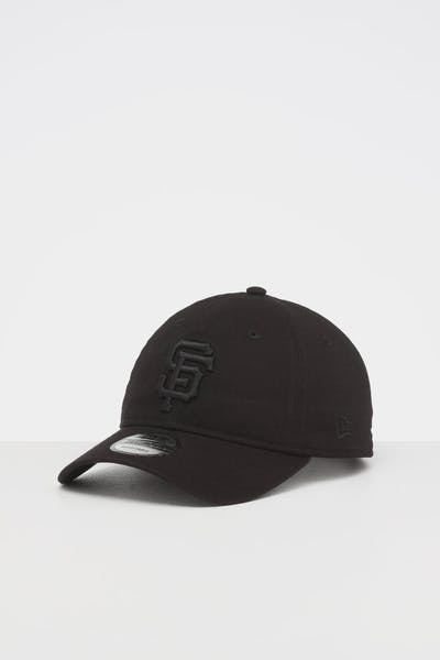 NEW ERA SAN FRANCISCO GIANTS 9TWENTY STRAPBACK BLACK/BLACK