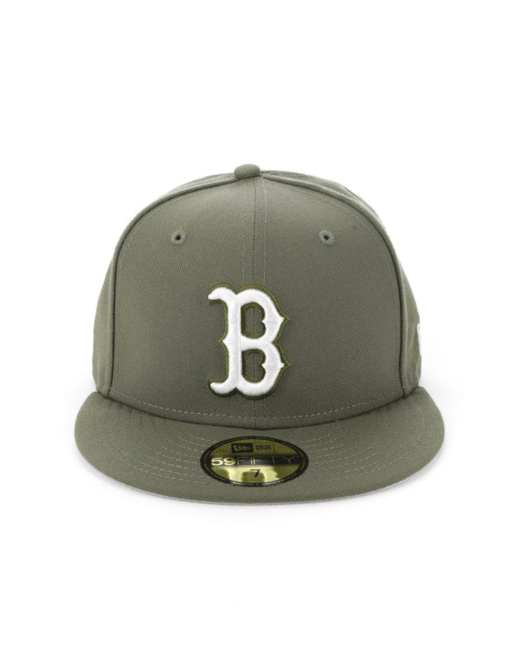 low priced f5a9c 31005 New Era Boston Red Sox 59FIFTY Fitted Olive – Culture Kings