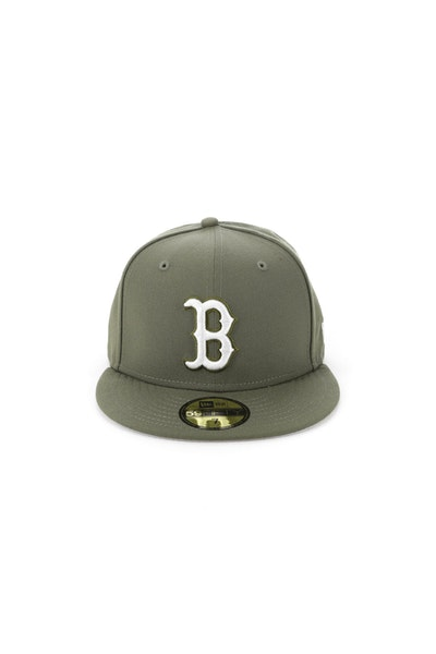 New Era Boston Red Sox 5950 Fitted Olive