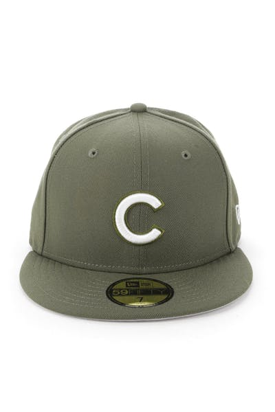 New Era Cincinnati Reds 59FIFTY Fitted Olive