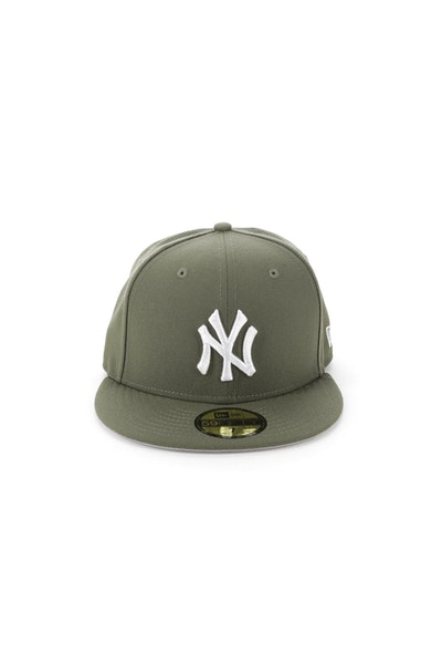 New Era New York Yankees 5950 Fitted Olive