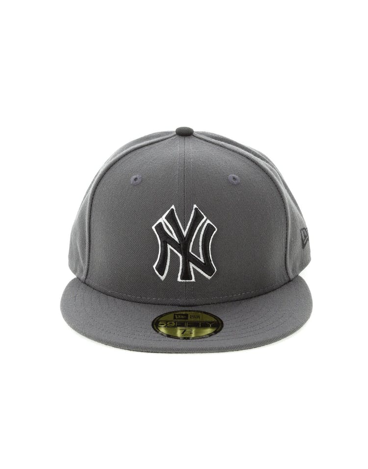 New Era New York Yankees 59FIFTY Fitted Graphite