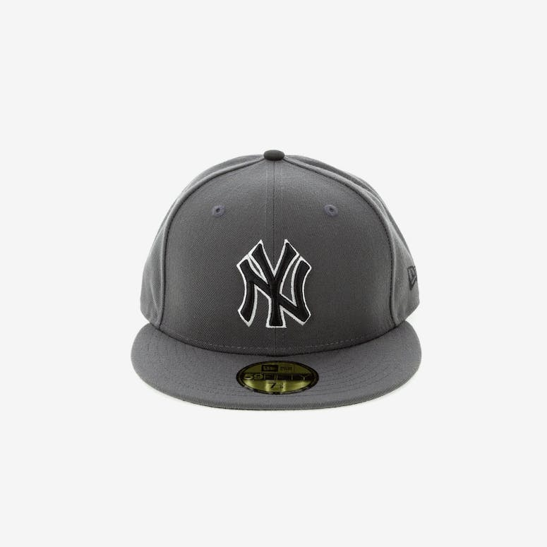 New Era New York Yankees 59FIFTY Fitted Graphite – Culture Kings 45a69db5b01a