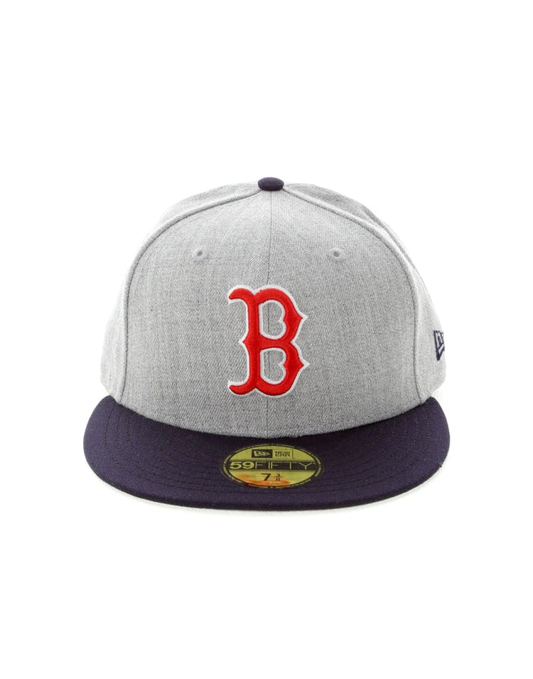 newest 3cc7b ae854 New Era Boston Red Sox OG Fitted Heather Grey – Culture Kings