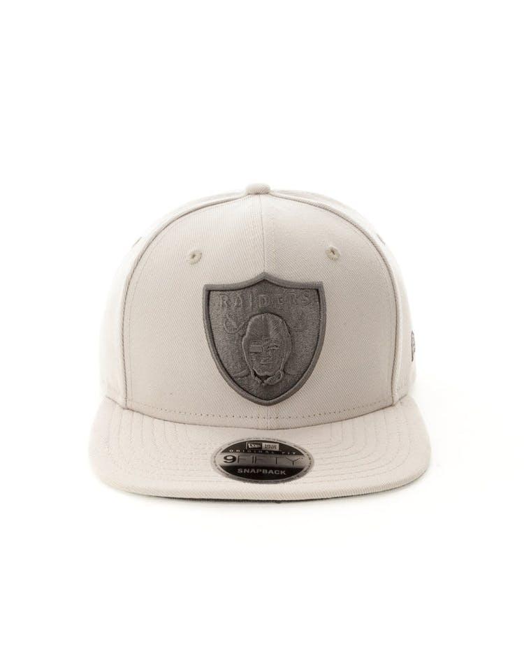san francisco ddf12 00b8d New Era Oakland Raiders 9FIFTY Original Fit Snapback Stone – Culture Kings