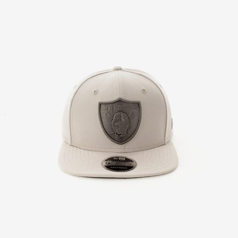 New Era Oakland Raiders 9FIFTY Original Fit Snapback Stone – Culture Kings 0f8b3110b