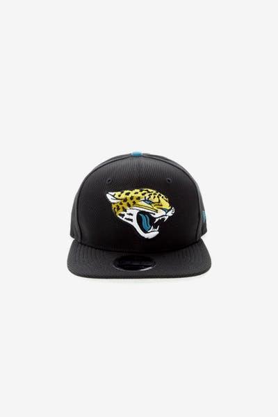 5c55923409505 New Era Jacksonville Jaguars 9FIFTY Original Fit Snapback Black