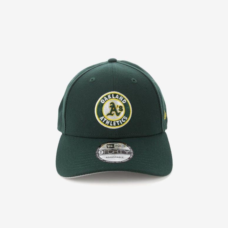 cac626ea64c New Era Oakland Athletics 9FORTY Snapback Dark Green – Culture Kings