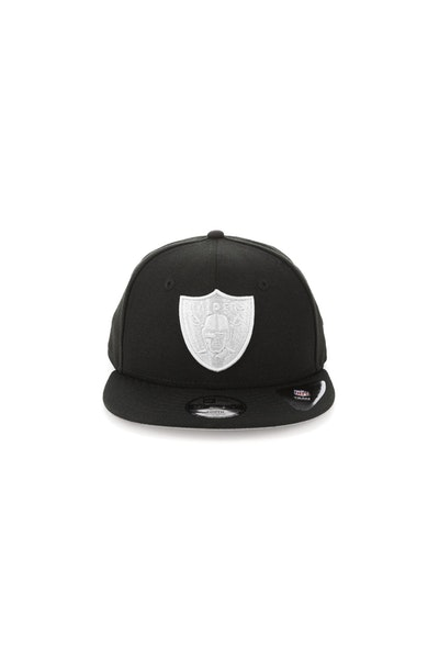 New Era Youth Oakland Raiders 950 Perforated Snapback Black
